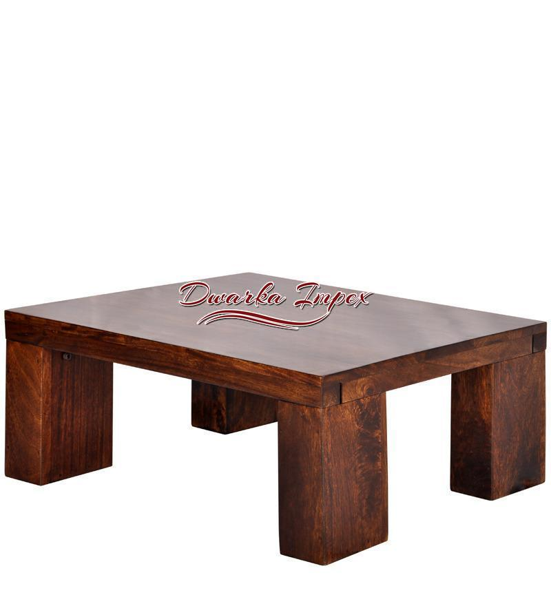 Comfortable Low Height Coffee Table